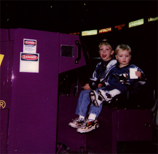I wanna ride the Zamboni!